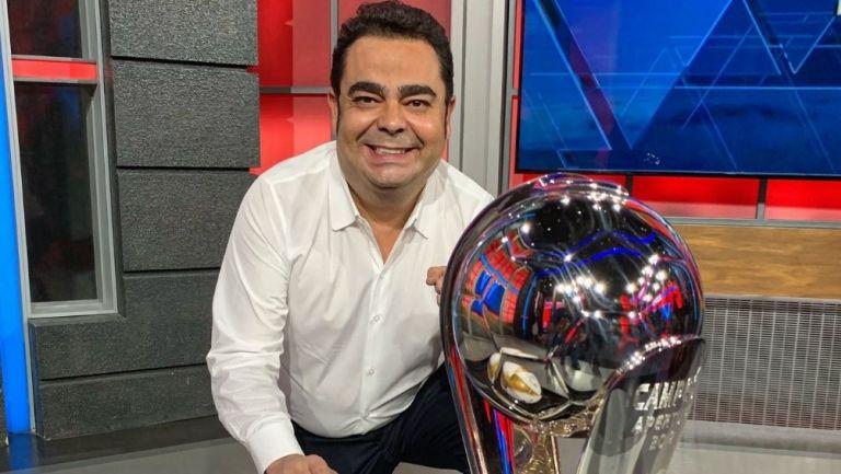 Ángel García Toraño salió de las transmisiones de ESPN