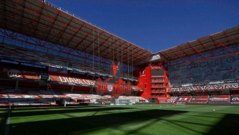 Estadio Nemesio Diez será centro de vacunación contra el Covid-19