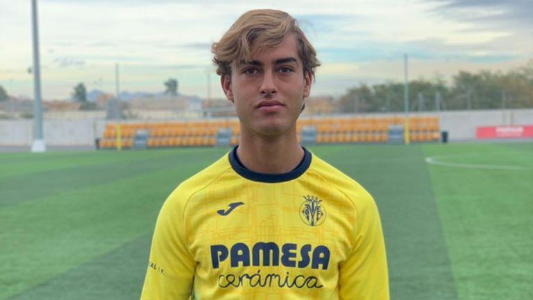 Emiliano García fue registrado con el Villarreal B