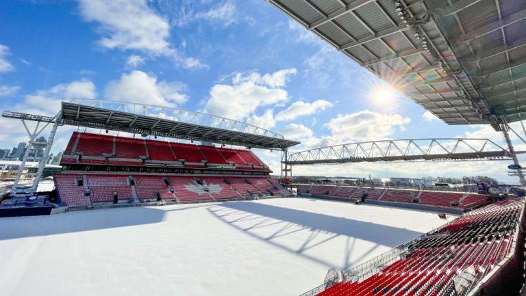 Estadio Nacional de Canadá, también conocido como el BMO Field, casa de Toronto FC