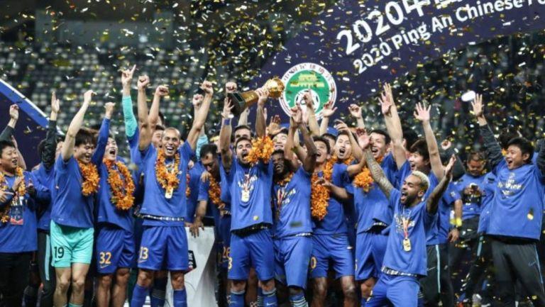 Jiangsu conquistando la Superliga China