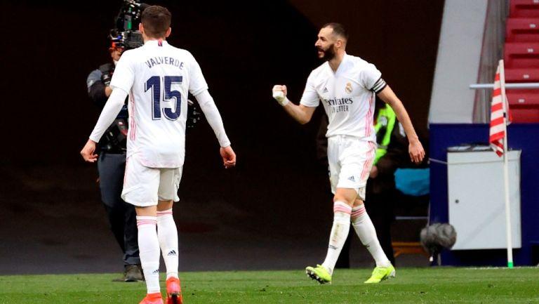Real Madrid: Rescató el empate ante el Atlético de Madrid