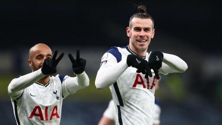 Gareth Bale maceó dos anotaciones