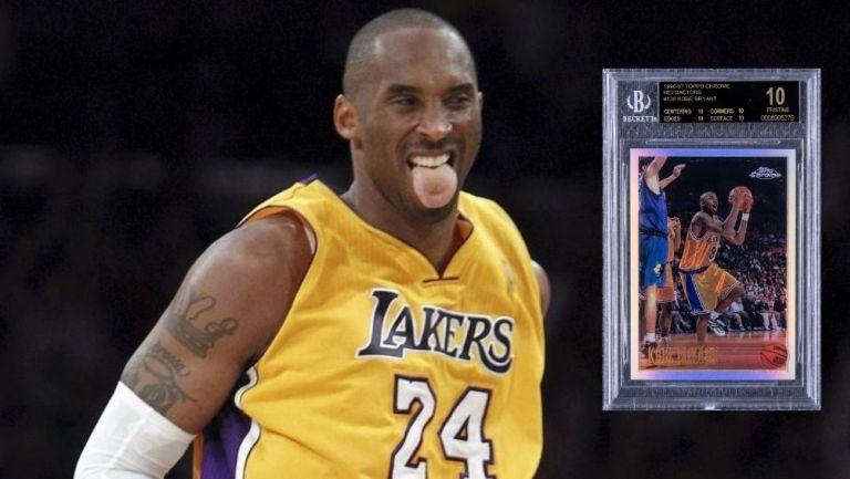 La tarjeta de Kobe Bryant