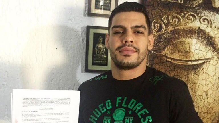 LUX Fight League: Hugo Flores volverá al octagono después de un año de ausencia