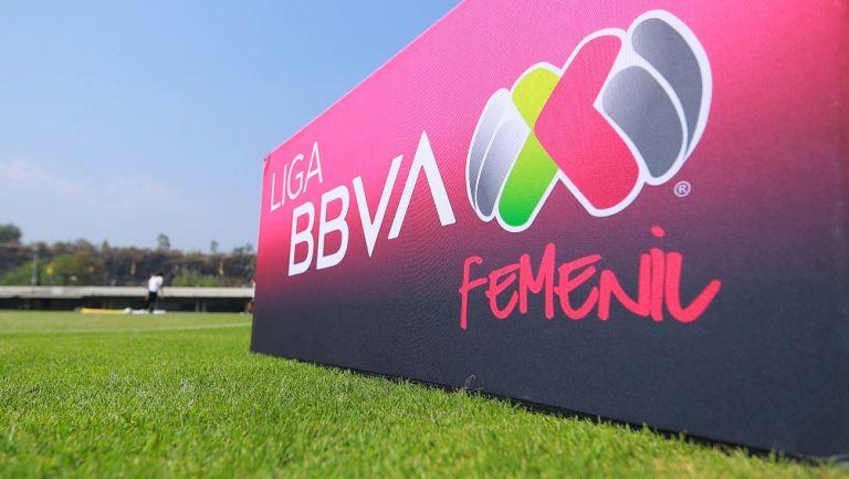 Pancarta de la Liga MX Femenil