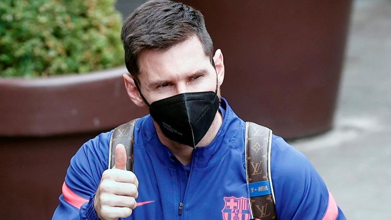Barcelona: Leo Messi votó por primera vez en elecciones para presidencia culé
