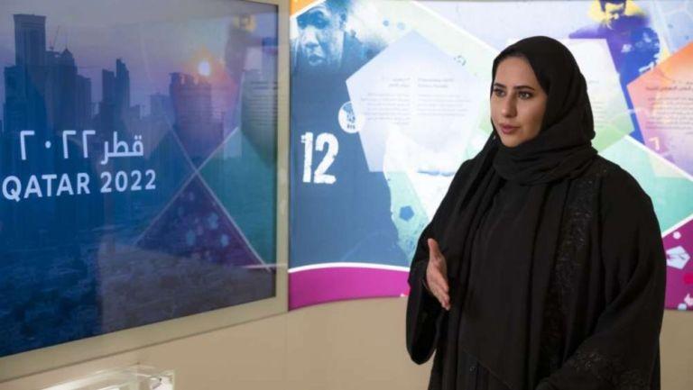 Fatma al Nuaimi, Directora Ejecutiva de Comunicación de Qatar 2022