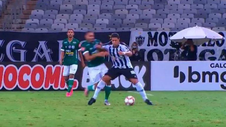 'Hulk', en acción con el Atlético Mineiro