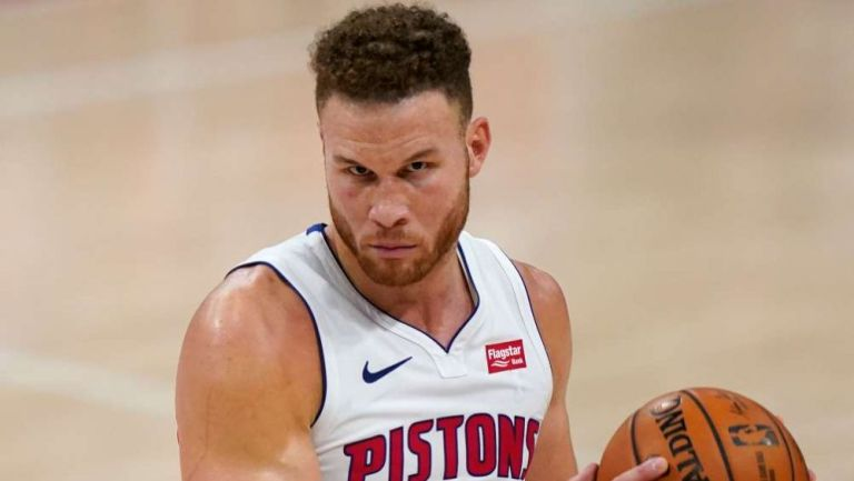 Blake Griffin como jugador de Detroit Pistons