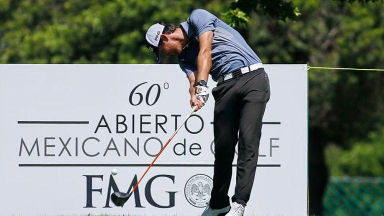 Mito Pereira, en acción en el Abierto Mexicano de Golf