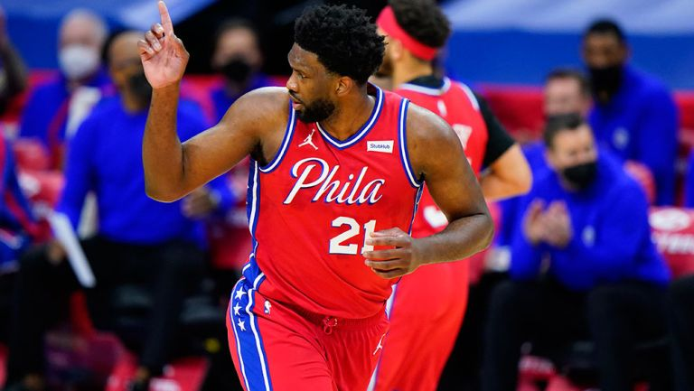 Embiid, tras anotar con 76ers