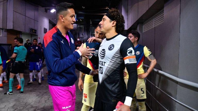 Gudiño y Ochoa previo a un Clásico