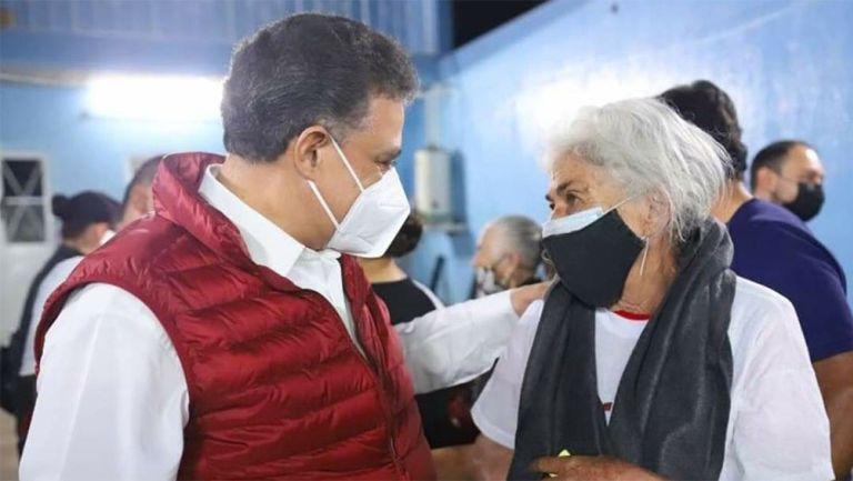 El doctor Carlos Lomelí  en un evento