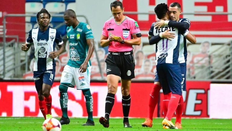 Liga MX: Rayados rescató el empate ante León en los últimos minutos