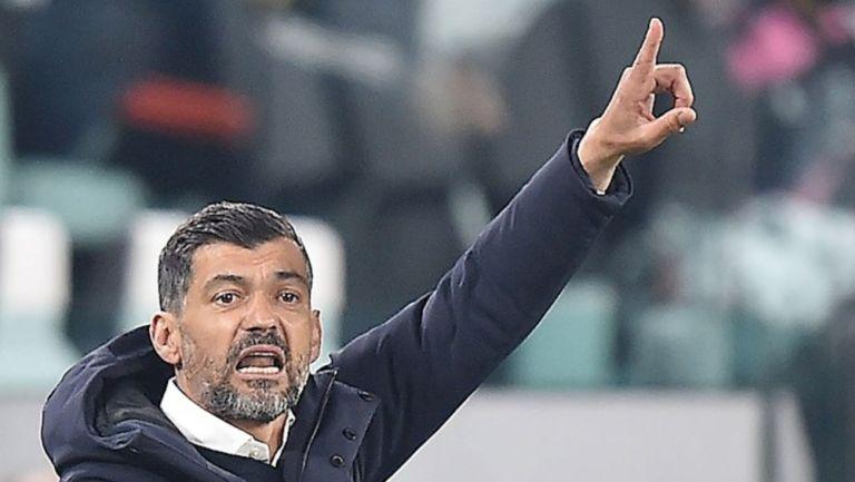 Sérgio Conceição en partido vs la Juventus