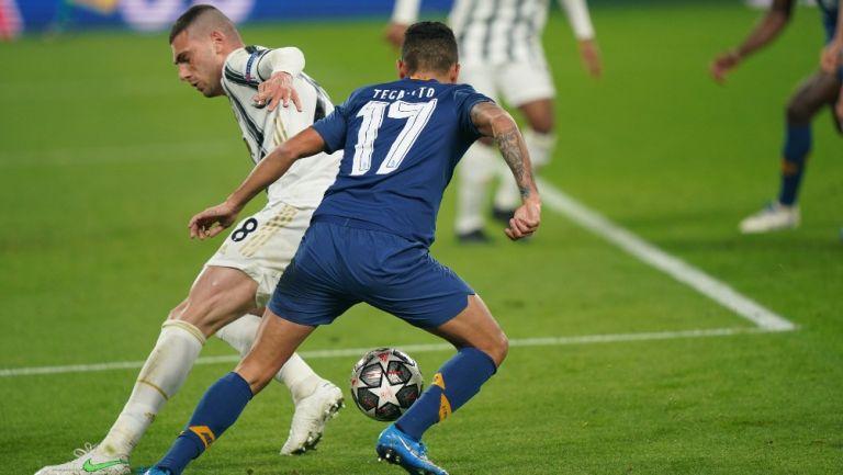 Tecatito Corona en clasificación vs Juventus