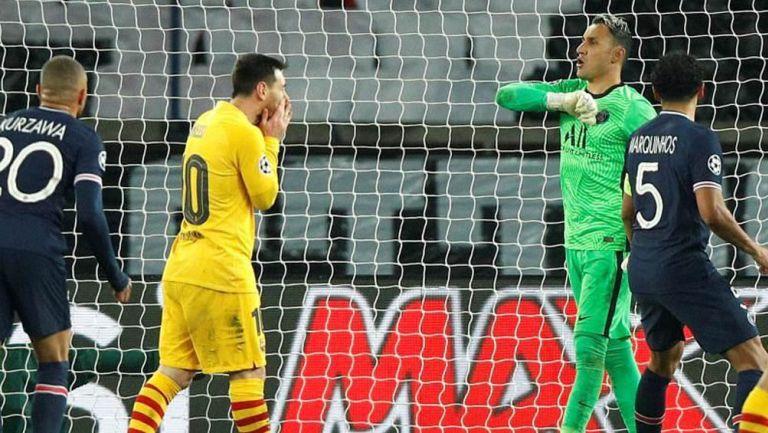 Navas, Feliz tras atajar penalti a Messi