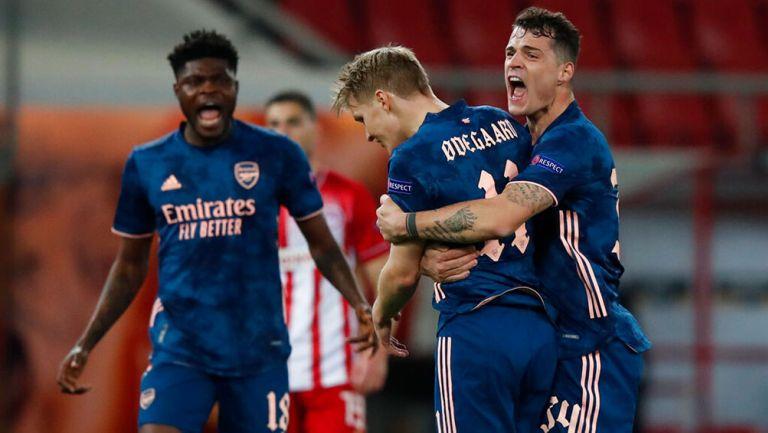 Europa League: Arsenal salió victorioso en su visita al Olympiacos