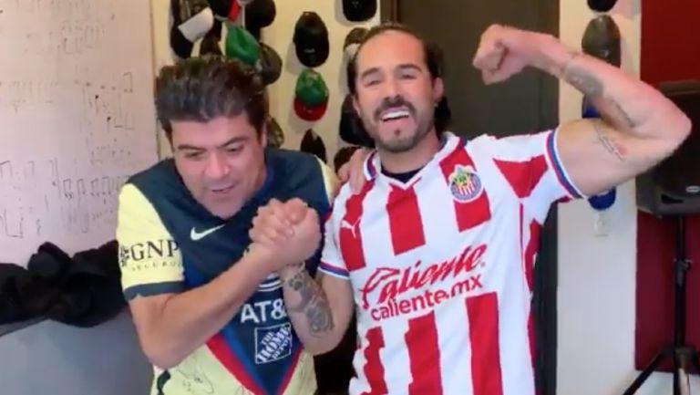 Burro Van Rankin y José Ron pactaron apuesta para el Clásico Nacional