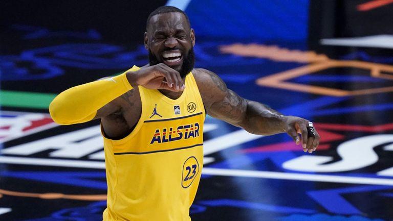 LeBron James en el Juego de Estrellas de la NBA