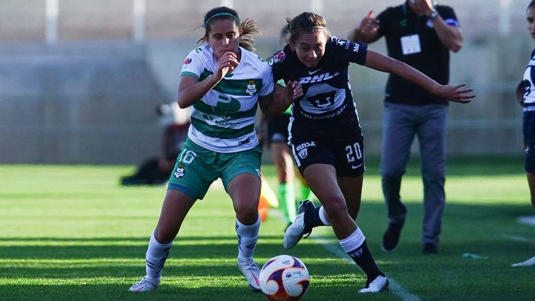 Pumas Femenil perdió el filo tras empatar con Santos