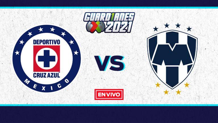 EN VIVO Y EN DIRECTO: Cruz Azul vs Monterrey Guardianes 2021 J11