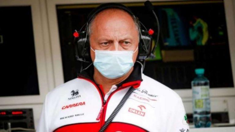 Frédéric Vasseur, director del equipo Alfa Romeo Racing