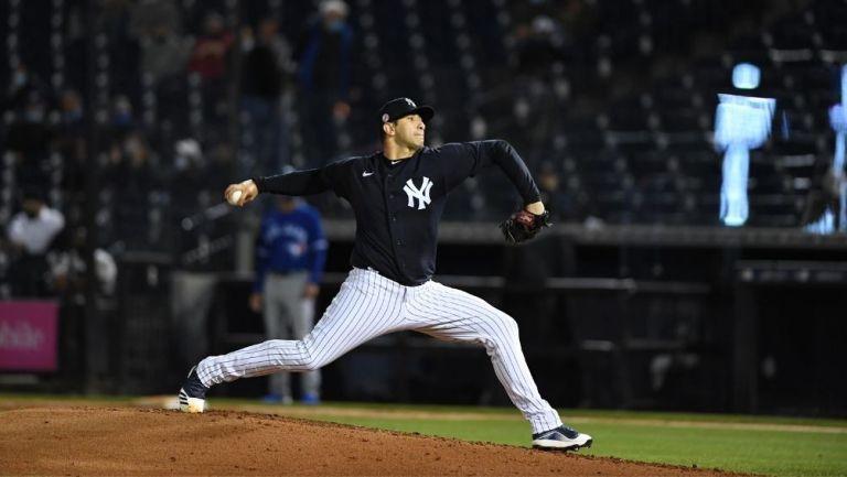 Cessa en un partido con los Yankees