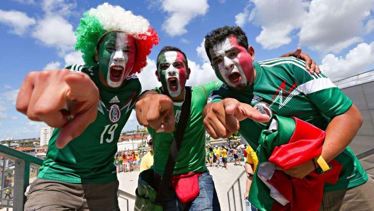 Afición de la Selección Mexicana