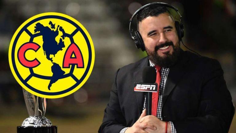 Álvaro Morales, analista de ESPN