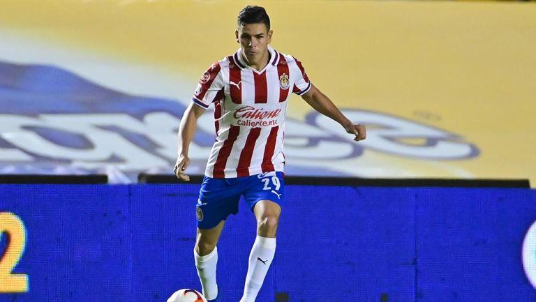 Lalo Torres en partido con Chivas