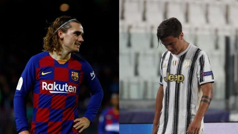 Griezmann y Dybala podrían cambiar equipos