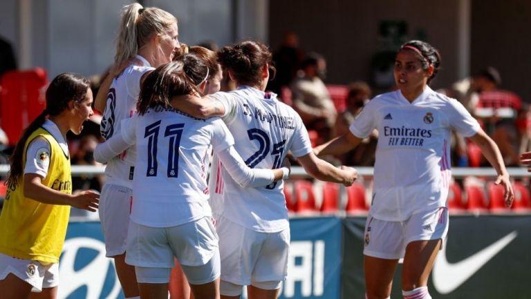 El Real Madrid Femenil consiguió histórica victoria