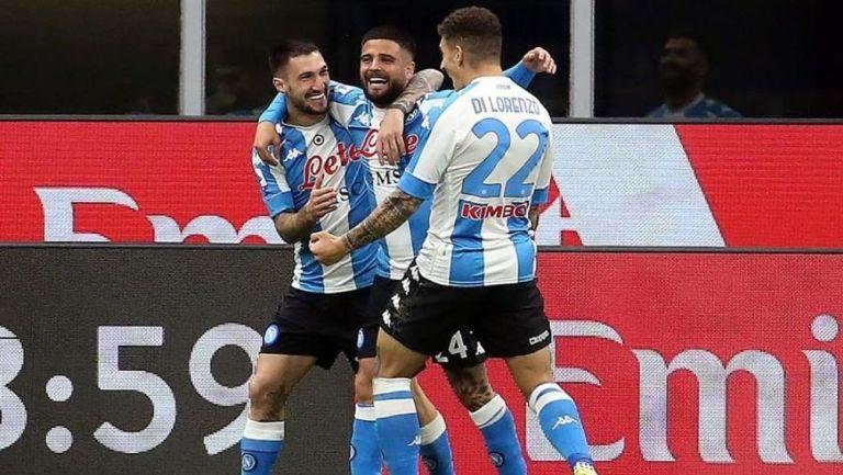 El Napoli se llevó la victoria ante el Milan