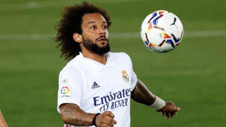Real Madrid: Marcelo regresó a los entrenamientos de cara al juego ante Atalanta