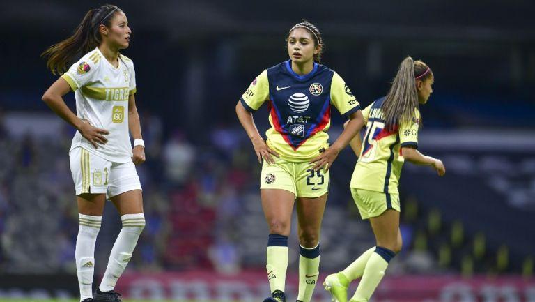 Liga MX Femenil: América y Tigres igualaron en vuelta de las Águilas al Azteca