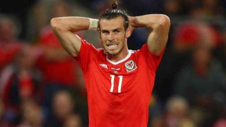 Gareth Bale durante un compromiso con Gales