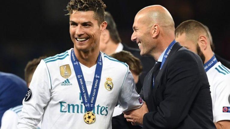 Zinedine Zidane, sobre posible regreso de Cristiano al Madrid: 'Puede darse'