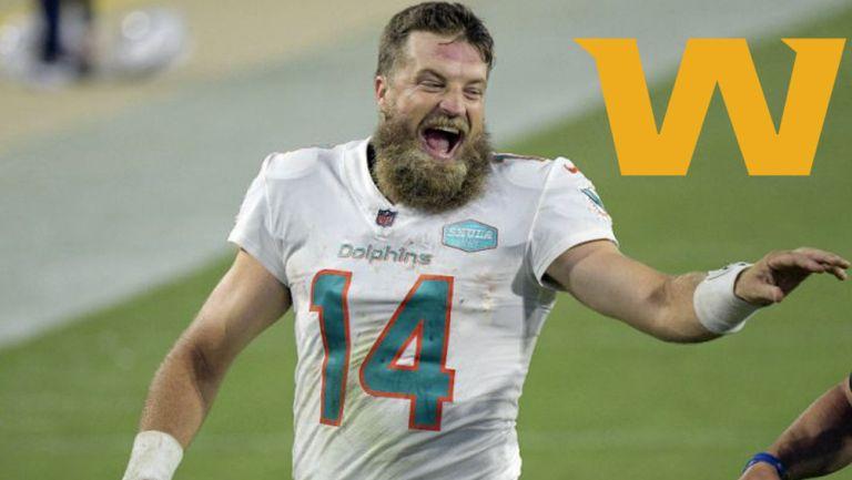 Ryan Fitzpatrick guió a los Miami Dolphins a la victoria