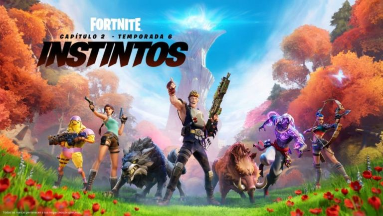 Temporada 6 del Capítulo 2 de Fortnite ya se encuentra disponible