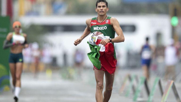 Horacio Nava, durante la competencia