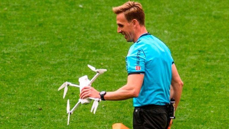 Dron en San Mamés