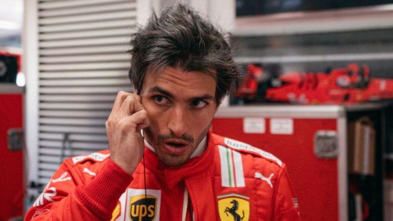 Carlos Sainz, piloto español de Ferrari