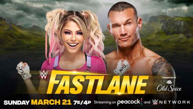 Alexa Bliss y Randy Orton se medirán en Fastlane