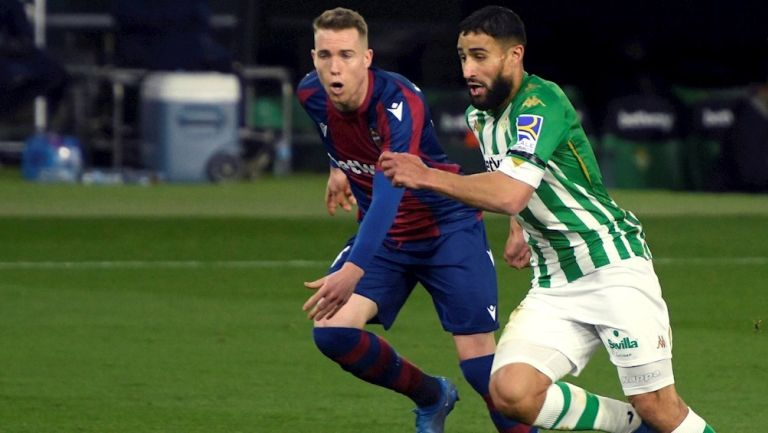 Nabil Fekir en victoria vs Levante