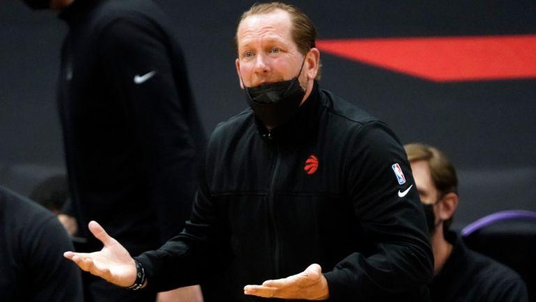 Nick Nurse, entrenador de Toronto Raptors