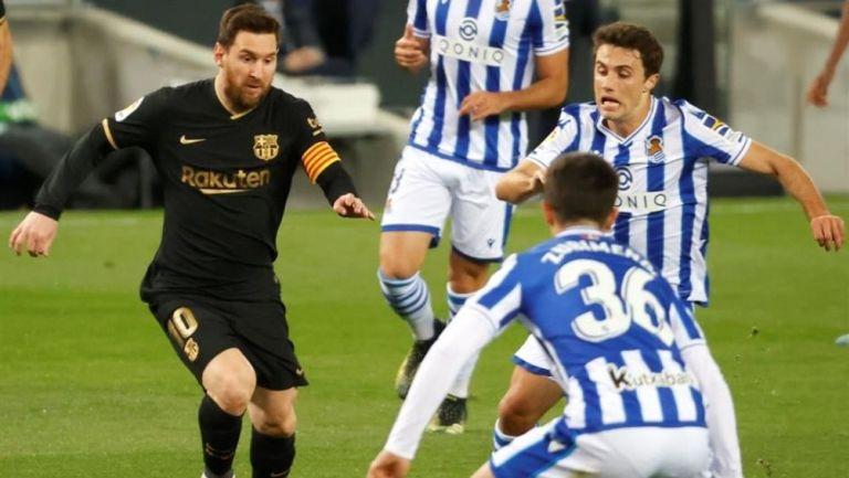 Lionel Messi impuso una nueva marca con el Barcelona