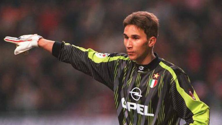Angelo Pagotto, durante un juego