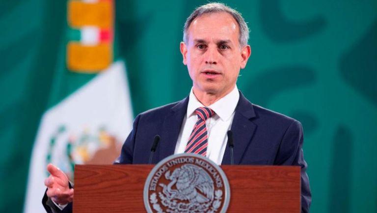 Hugo López-Gatell en conferencia de prensa